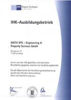 Urkunde-von-der-IHK-Ausbildungsbetrieb